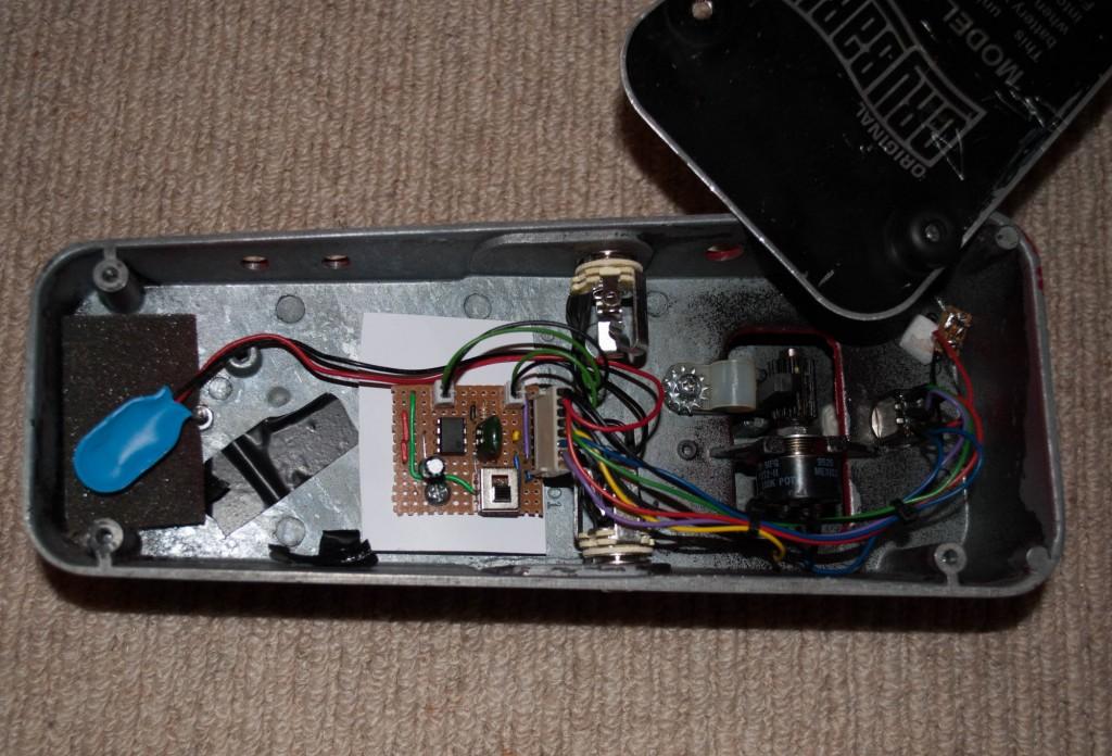 DIY Volume pedal