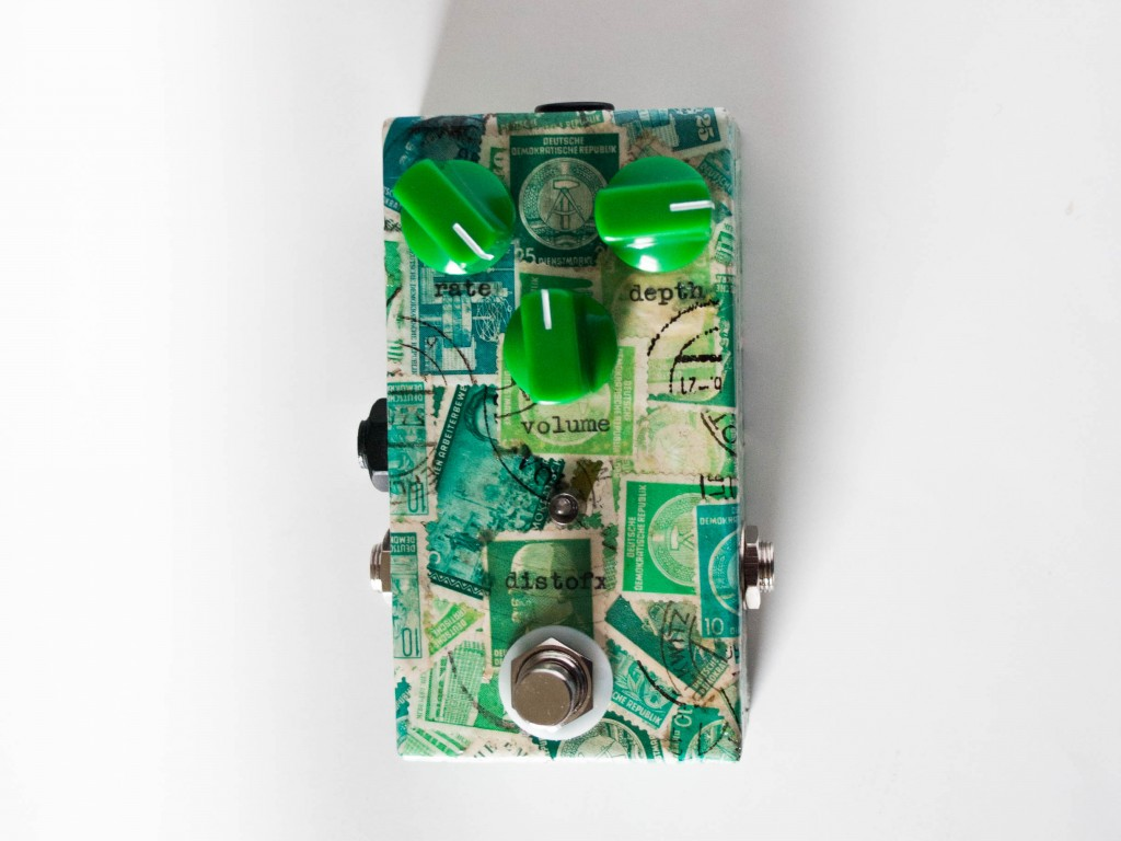 Top view of the Green Tremolo